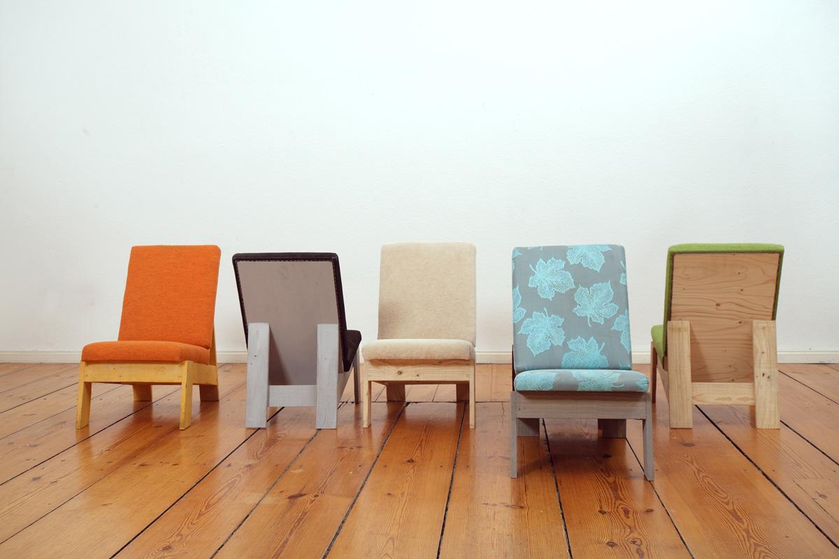 Stuhl,l Design by Martin Wegener