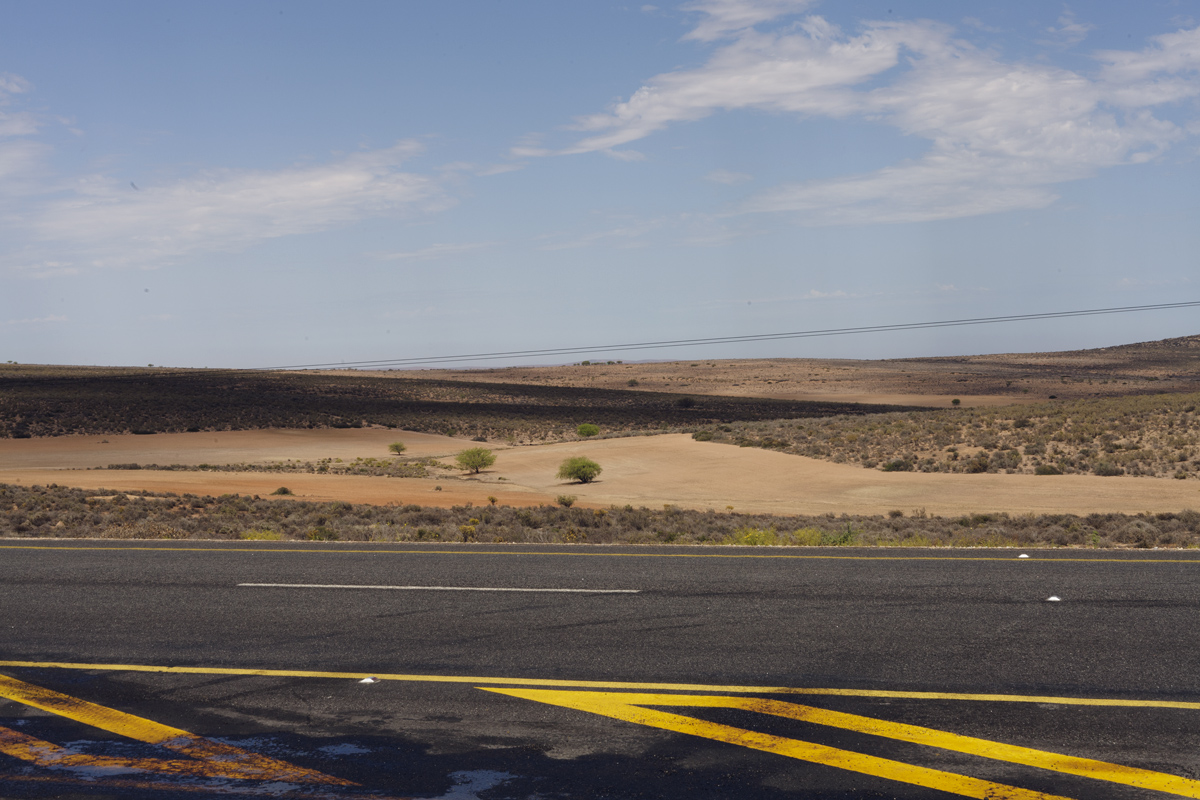 On the way from Springbok to Cape Town